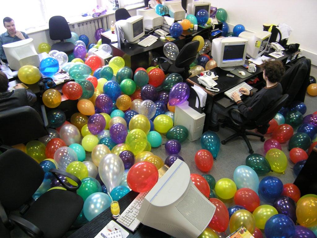 деловые игры в офисе