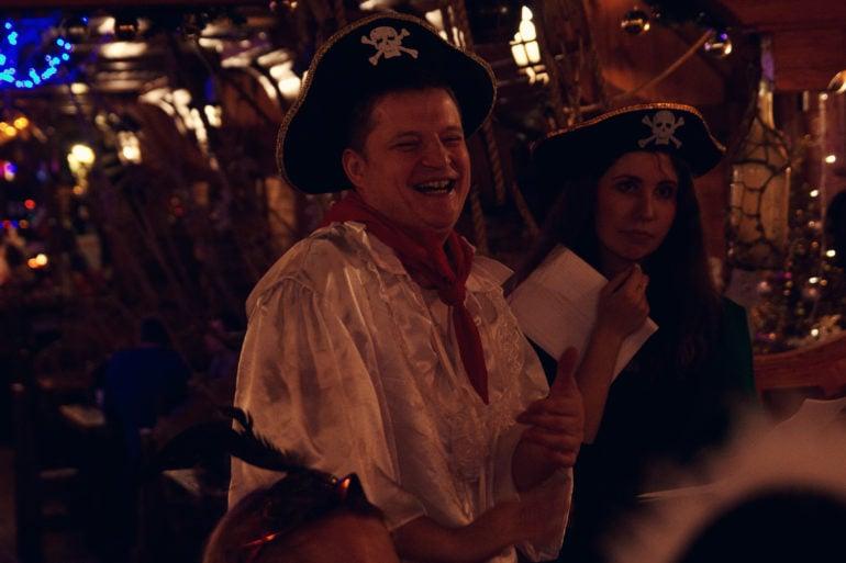 Пиратский квест, квест на корпоратив